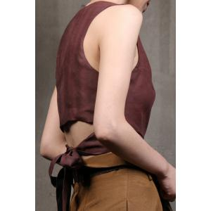 Tie-Back Reversible Wrap Top -