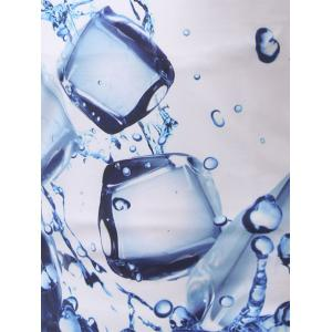 Fashion Round Collar 3D Ice Cube Printing T-Shirt For Men -