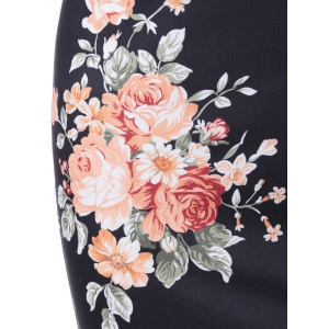 Empire Waist Floral Race Day Dress -