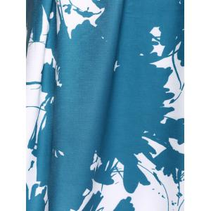 Tie Dye Sleeveless High Waist  Dress -