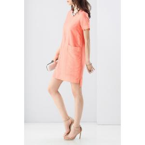 Double Pocket Solid Color Dress -