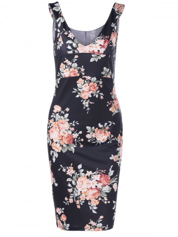 New Empire Waist Floral Race Day Dress
