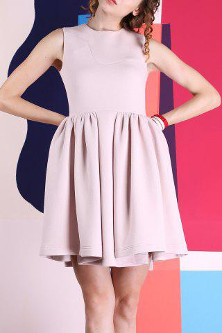 Shops Sleeveless Bonded Skater Dress