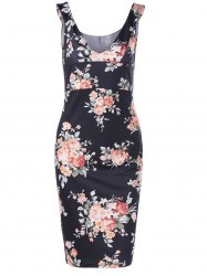Empire Waist Floral Race Day Dress