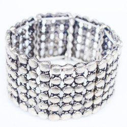 Multilayered Alloy Bracelet