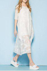 Tie Front Cropped Sheer Cape -