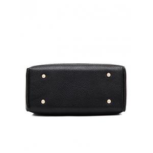 Concise Letter and Solid Colour Design Crossbody Bag For Women -