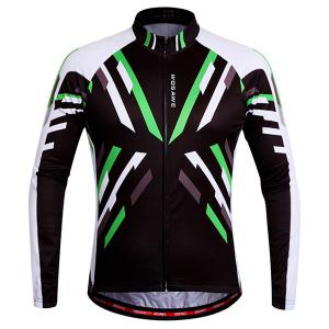 Useful Breathable Quick Dry Cycling Long Sleeve Jersey For Unisex