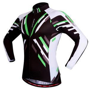 Useful Breathable Quick Dry Cycling Long Sleeve Jersey For Unisex -