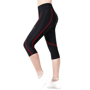 High Quality Windproof Tight Cycling Cropped Trousers For Women -