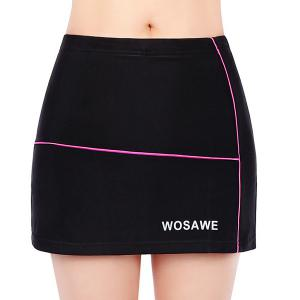 Chic Quality Breathable 4D Padded Gel Cycling Divided Skirts For Women -