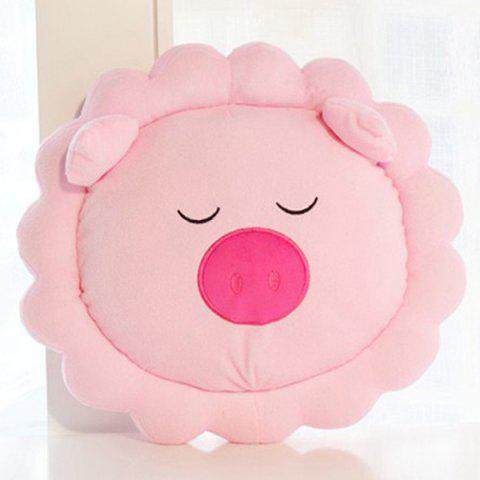 Outfit Cartoon Home Decoration Sunflower Embellished Pig Shape Design Pillow