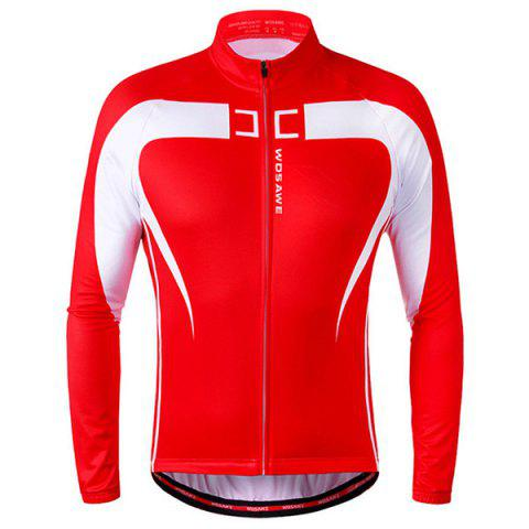 Affordable High Quality Long Sleeve Thermal Fleece Cycling Jacket For Unisex