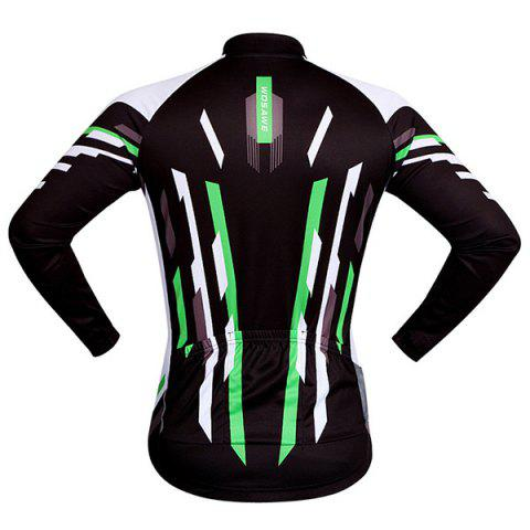 Outfit Useful Breathable Quick Dry Cycling Long Sleeve Jersey For Unisex - 2XL COLORMIX Mobile