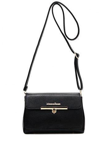 Fashion Concise Letter and Solid Colour Design Crossbody Bag For Women