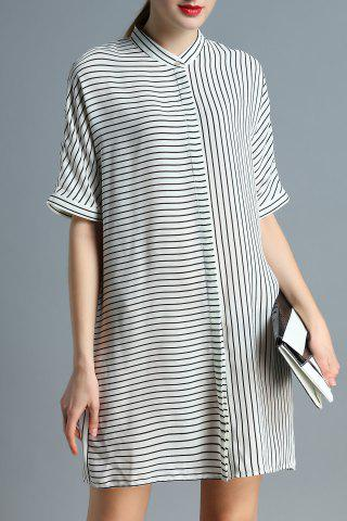 Outfit Striped Shift Dress