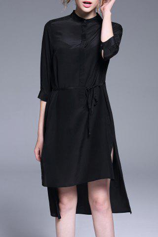 Shop High Low Hem Black Dress