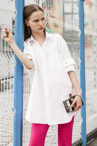 Store Cotton Star Bunny Love Oversized Shirt