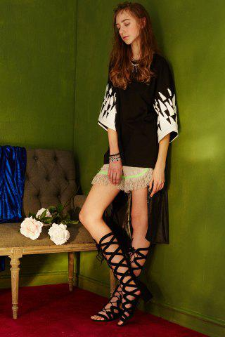 Outfits Printed Oversized Cotton T-Shirt