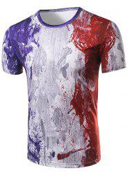 Casual Short Sleeve Printed T-Shirt For Men