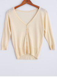 Thin Button Fly  Cardigan -