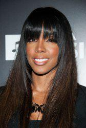 Fluffy Full Bang Long Layered Natural Straight Wig For Women -