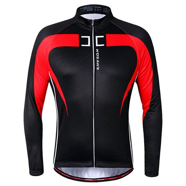 Best High Quality Long Sleeve Thermal Fleece Cycling Jacket For Unisex