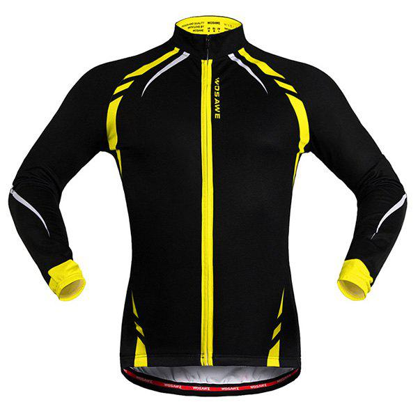Hot Fashionable Long Sleeve Warmth Thermal Fleece Cycling Jacket For Unisex
