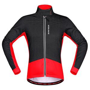 High Quality Windproof Thermal Fleece Cycling Long Sleeve Jacket For Unisex -