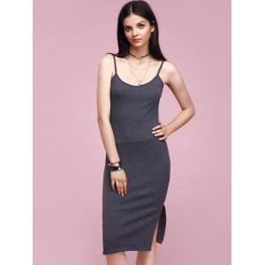 Stylish Women's Side Slit Cami Dress -
