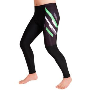 Simple Pattern Breathable Gel Padded Tight Cycling Pants For Unisex -