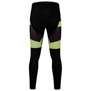 Fashion Polka Dot Pattern Breathable Gel Padded Tight Cycling Pants For Unisex -