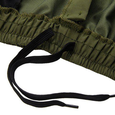 Outfits Casual Multifunction Waterproof Outdoor Sports Cycling Shorts For Men - L ARMY GREEN Mobile