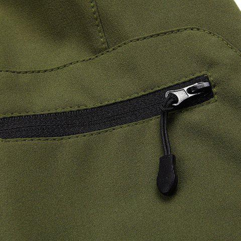 Best Casual Multifunction Waterproof Outdoor Sports Cycling Shorts For Men - L ARMY GREEN Mobile