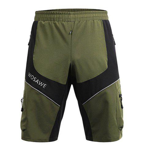 Shops Casual Multifunction Waterproof Outdoor Sports Cycling Shorts For Men - L ARMY GREEN Mobile