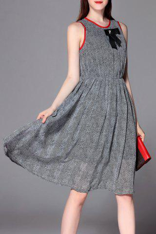 Fancy Sleeveless A Line Swing Dress