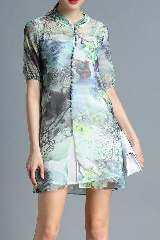 Shops Cami Dress and Scenery Print Dress Twinset