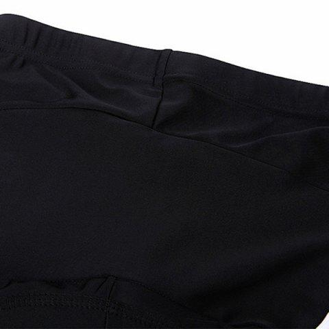 Discount Comfortable Breathable Gel Padded Tight Cycling Pants For Women - S BLACK Mobile