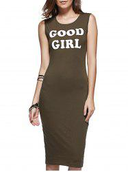 Good Girl Graphic Tank Dress