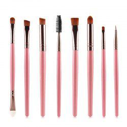 Stylish 8 Pcs Multifunction Soft Nylon Eye Makeup Brushes Set