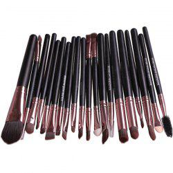 Stylish 20 Pcs Multifunction Nylon Face Eye Lip Makeup Brush Set