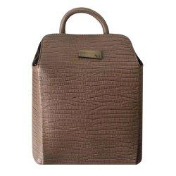 Vintage Embossing and Zip Design Tote Bag For Women -