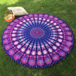 Bikini Boho Swimwear Arab Print Silky Comfortable Round Beach Throw Scarf