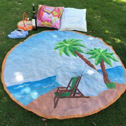 Bikini Boho Swimwear Cozy Chair Coconut Tree Chiffon Round Beach Decor Throw Scarf