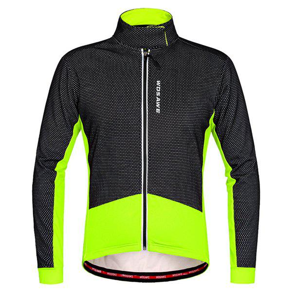 Cheap High Quality Windproof Thermal Fleece Cycling Long Sleeve Jacket For Unisex