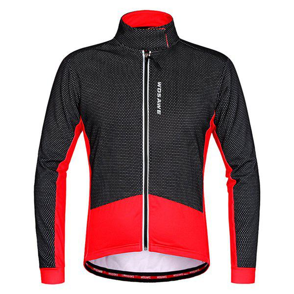 Best High Quality Windproof Thermal Fleece Cycling Long Sleeve Jacket For Unisex
