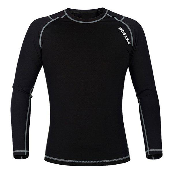 Affordable Professional Warmth Thermal Fleece Base Layer Cycling Long Sleeve Jersey For Unisex