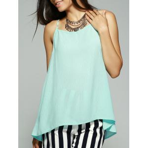 Simple Style Women's Bowknot Decorated Chiffon Tank Top