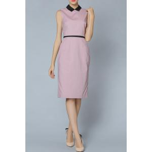 Doll Collar Top and Dress Twinset -
