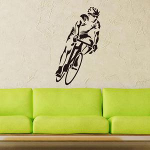 Bicycle Sportsman Sports Wall Decals For Bedrooms -
